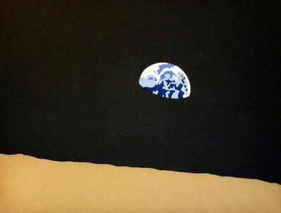 Kota Ezawa, 'Earth From Moon', 2006