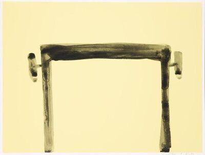 Andrea Büttner, 'Piano Stool, For Parkett 97', 2015