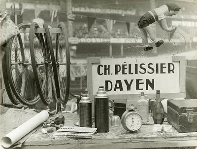 Brassaï, 'Still Life at the Six-Day Cycle Race at the Velodrome d'Hiver', 1931-1935