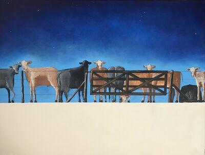 """Carlos Alberto Scaramella, '""""feedlots """" acrylic/canvas 060 x 080 año 2019', 2019"""