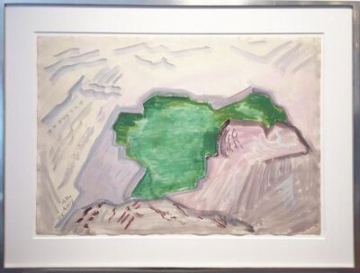 Milton Avery, 'Pool of Rocks', 1948