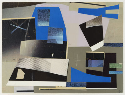 Werner Drewes, 'Study for 'Solid Against Loose Forms'', 1979