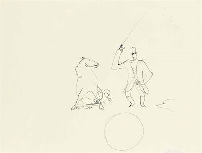 Alexander Calder, 'Ringmaster and Horse'
