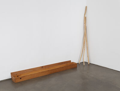 Robert Kinmont, 'Box with willow sticks hollowed out and filled with sage', 1974-1975