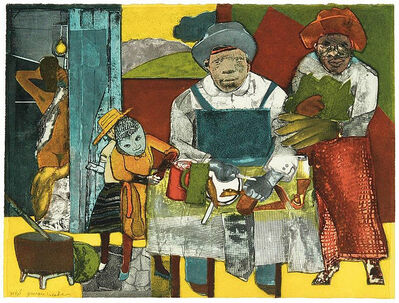 Romare Bearden, 'The Family', 1975