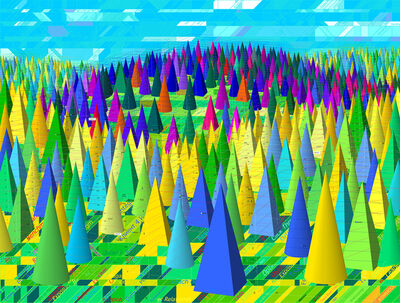Oleksiy Sai, 'Bright Forest', 2013