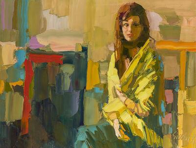 Nicola Simbari, 'Woman in green'