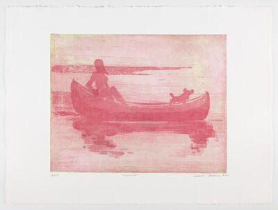 Deborah Brown, 'Canoeist V, edition 3/18', 2021