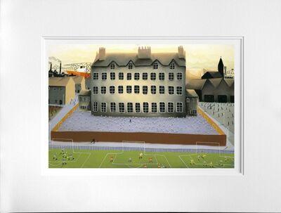 MacKenzie Thorpe, 'All The World Is Playing', 2007
