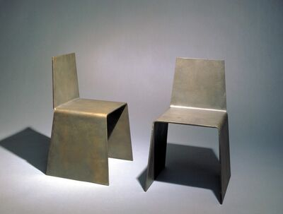 Scott Burton, 'Untitled: Two Chairs', 1979
