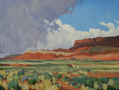 """G. Russell Case, '""""Coming Rain""""', 2018"""