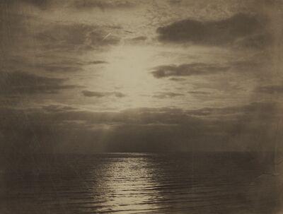 Gustave Le Gray, 'Effet de soleil dans les nuages - Océan (Solar Effect in the Clouds, Ocean)', circa 1856-57