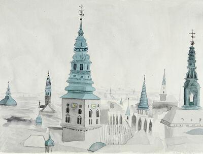 Patrick Procktor, 'Kopenhagen, Southeastward', 1973