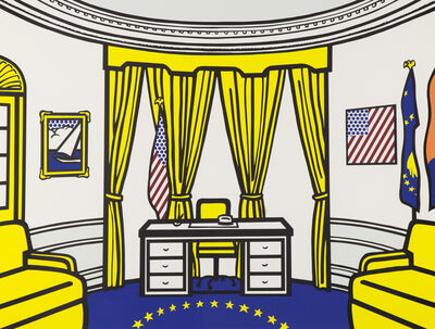 Roy Lichtenstein, 'The Oval Office', 1992