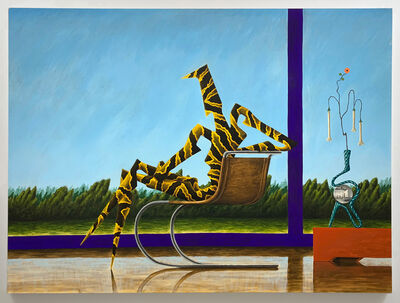 Alejandro Cardenas, 'Clear Skies at the Field House 1', 2020