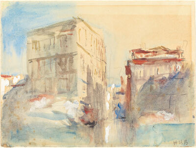 Hercules Brabazon Brabazon, 'Palaces on the Grand Canal in Venice'