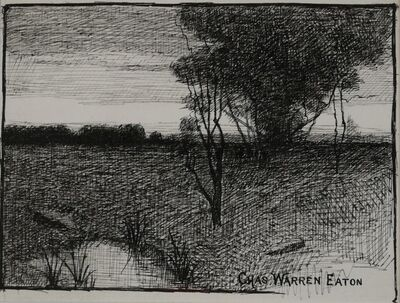 Charles Warren Eaton, 'Peaceful Meadow', ca. 1895