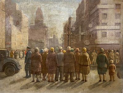 Isabel Bishop, 'Manhattan Street', 1929