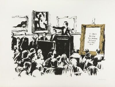 Banksy, 'Morons (Unsigned)', 2007
