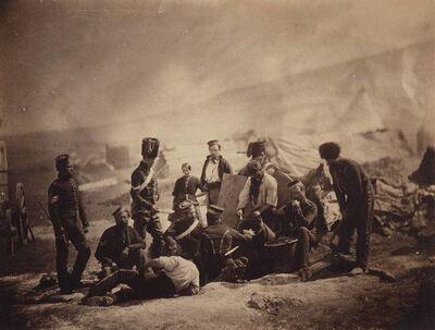 Roger Fenton, 'Two salt prints of Crimean War scenes'