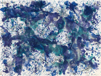 Sam Francis, 'Smoke Sulfur', 1973