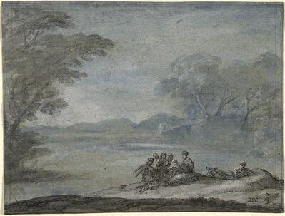 Claude Lorrain, 'The Rest on the Flight into Egypt', 1682