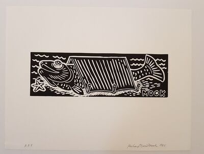 Richard Mock, 'Untitled (Fish in Tent)', 1986