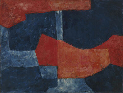 Serge Poliakoff, 'BLEU ET ROUGE', 1964