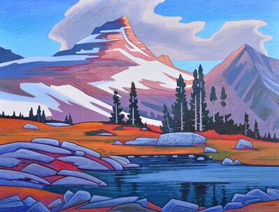 Nicholas Bott, 'Mount Albert Edward Peak', 2020