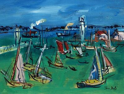 Jean Dufy, 'Le Port', c. 1950
