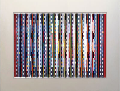 Yaacov Agam, ''Fascination Prismagraph' Artist Proof, Color Serigraph with Transparent Prisms', 1995