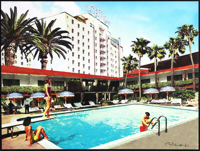 Michael Giliberti, 'Poolside At The Hotel Roosevelt', 2019
