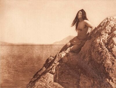 Edward Sheriff Curtis, 'Nine Photogravures from The North American Indian, Volume 14', 1924