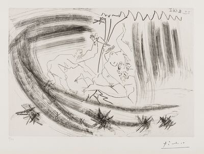 Pablo Picasso, 'L'abduction (from Séries 156) (Bloch 1419)', 1966