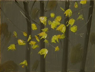 Alex Katz, 'Yellow Leaves #5', 2006
