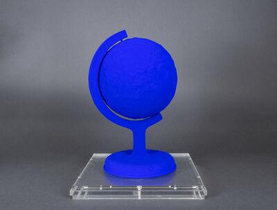 Yves Klein, 'La terre bleue', 1957