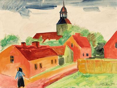 Max Pechstein, '»Landschaft mit Kirche«', 1922