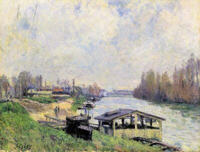 Alfred Sisley, 'Le Lavoir de Billancourt', 1879