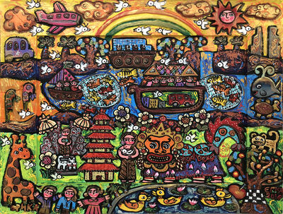 Erica Hestu Wahyuni, 'Happy Rainbow in Bali', 2018
