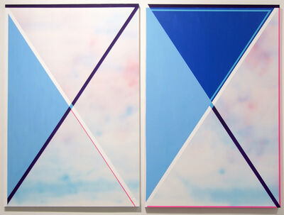 Kelley Johnson, 'Atmosphere Diptych 1', 2017