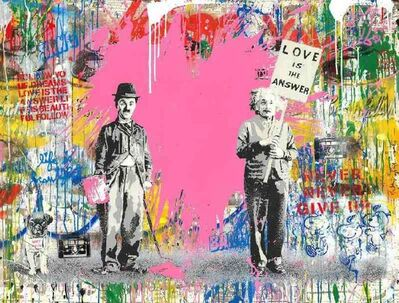 Mr. Brainwash, 'Juxtapose', 2020