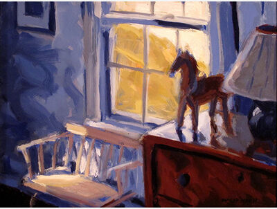 Philip Koch, 'Hopper's Bedroom and Bench'