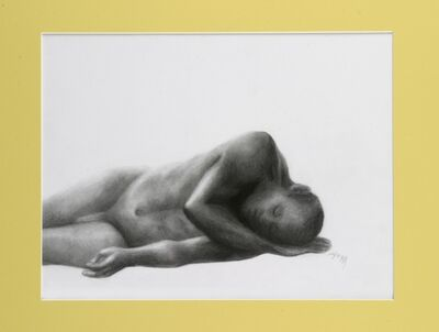 Elodia Arellano Fanjul, 'Figure on Yellow ', 2006