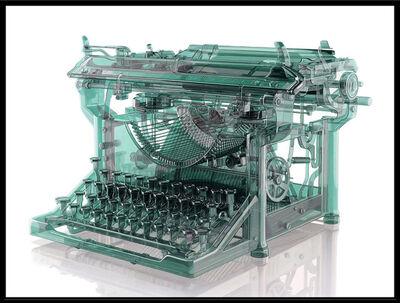 Jeff Bartels, 'Antique Glass Typewriter', 2019