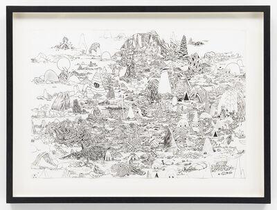 Trenton Doyle Hancock, 'Master Cave Scape I', 2010
