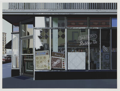 Richard Estes, 'Danbury Tile, from the Urban Landscapes I portfolio', 1972