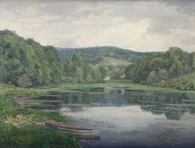 Wilson Irvine, 'Old Lyme Pond', 1918