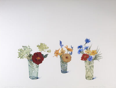 Susan Headley Van Campen, 'Three Bouquets, September', 2019