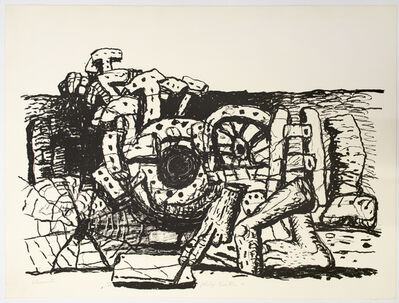 Philip Guston, 'Elements', 1980