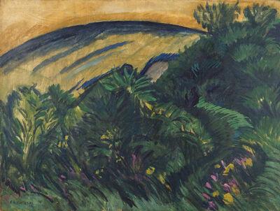 Ernst Ludwig Kirchner, 'Dünen und Meer (Dunes and Sea)', 1913